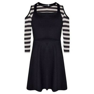 Girls Skirts Kids Pinafore Skirt Dungaree & Crop Top All In One Playsuit 7-13 Yr
