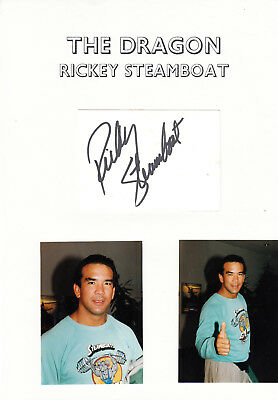 Wrestling - The DRAGON - RICKY STEAMBOAT - WWF / WCW