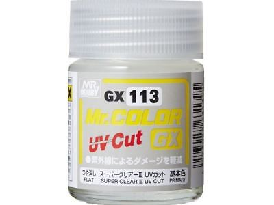 Mr Color GX Super Clear III UV Cut Flat (18ml)