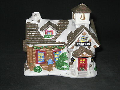 Wellington Square Collection - Christmas Village School - 2005 - FREE Shipping