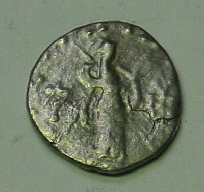 Baktria, (One of the Three Wise Men?) Azes II silver unit, 35 BC-5AD.