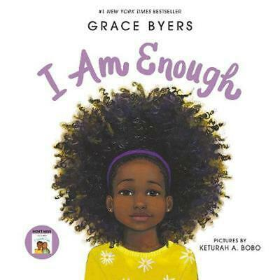 I Am Enough by Grace Byers Hardcover Book Free Shipping!