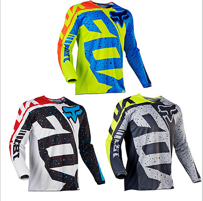 Fox 180 race Riding Jersey Men's Motocross/MX/ATV/BMX/MTB Dirt Bike 2018
