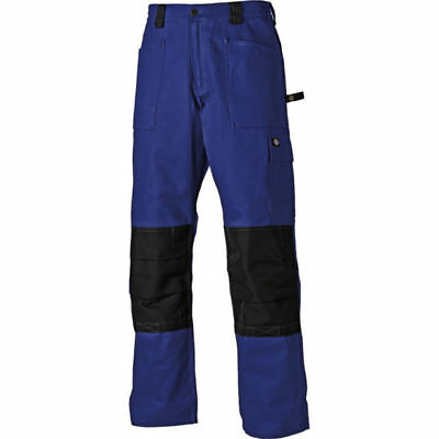 Dickes GDT290 Workwear Cargo Trouser Pants Blue Black 46R 56R WD4930 RBB46R