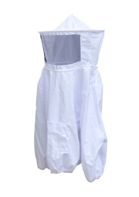 Beekeeper Protective Veil Suit Dress Jacket Smock,Bee Hat Equipment Y297