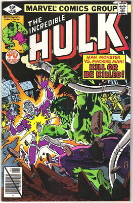 The Incredible Hulk Comic Book #236 Marvel Comics 1979 FINE+