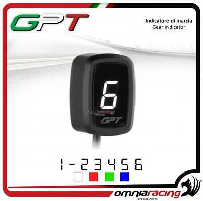 Contamarce GPT plug & play Indicatore marcia bianco Yamaha XJ6 NO ABS 2009>2014
