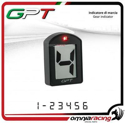 Contamarce GPT plug&play Indicatore in abs bianco Honda CBR650F 2014>2016