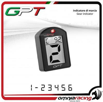 Contamarce GPT plug&play spia cambio e temp Yamaha XJ6 NO ABS 2009>2014