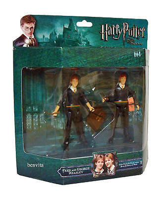 Harry Potter - Deluxe 11 cm Figuren Fred & George Weasley Popco 4+ - Neu