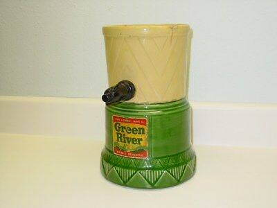 Vintage Green River Syrup Dispenser Stoneware/Ceramic, Cordley Co. New York