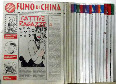 Lotto Di Fumo Di China 1995-1997