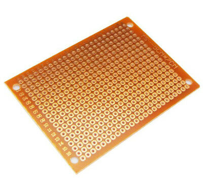 2/5/10 PC One Side 5 X 7 CM PCB Strip board Printed Circuit Prototype Track LW