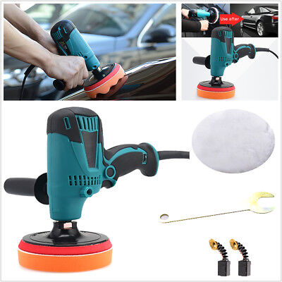 220V 6 Speed Car Paint Care Waxing Machine Adjustable-Speed Porcelain Polisher