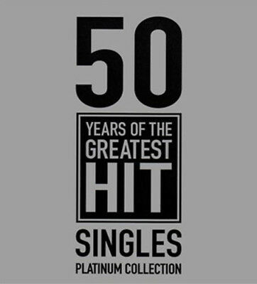 Various Artists : 50 Years of the Greatest Hit Singles: Platinum Collection CD