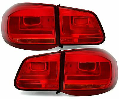 LED Rückleuchten Facelift Optik für VW Tiguan 5N Bj. 2007-2011 Rot Cherry