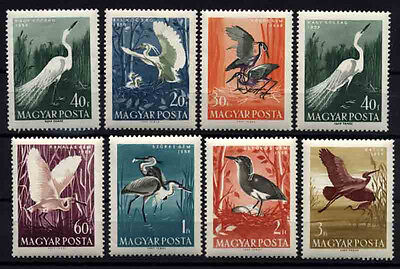 708 HUNGARY 1959 Birds MNH