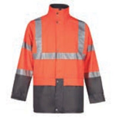 Ropa laboral .Chaqueta impermeable.NARANJA.Talla-4XL NORTHWAYS 8250 Bandit