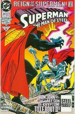Superman: Man of Steel # 24 (Reign of the Superman tie-in) (USA, 1993)