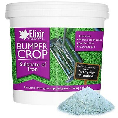 Bumper Crop Sulphate of Iron Moss Treatment Lawn Tonic | Green Up & Protection