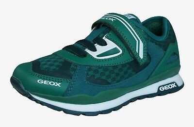 Geox J Pavel A Boys Sneakers / Casual Comfortable Shoes Green Worldwide Shipping