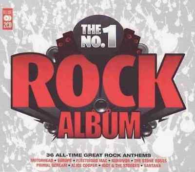 The No.1 ROCK ALBUM - 2 CDs NEU - Stone Roses - Blue Öyster Cult - Ram Jam TOTO
