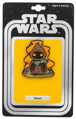 Classic Star Wars Jawa Figure Enamel Metal Pin 2017 NY Comic Con SEALED