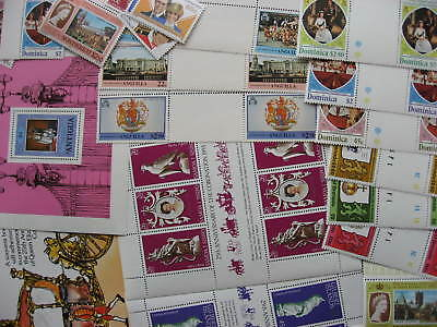 Commonwealth QEII 25th, Di wedding etc MNH  31 stamps, booklet, SS see pictures