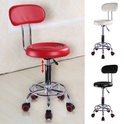 Beauty Spa Salon Stool Gas Lift Hairdressing Barber Tattoo Massage Chair 3 color