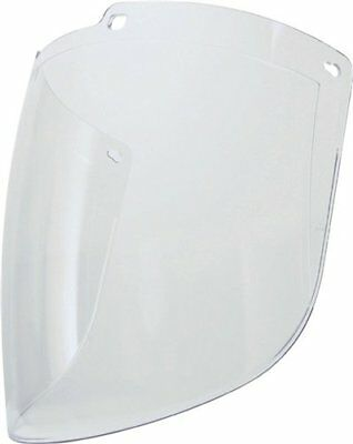 Turbo shield Clear Polycarbonate Visor Uncoated mit 50% mehr Kinn Deckung/Visor