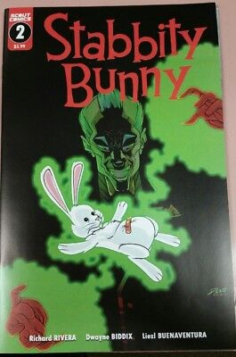 Stabbity Bunny #2 Comic Book 2018 - Scout Comics