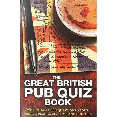 The Great British Pub Quiz (Paperback), Non Fiction Books, Brand New