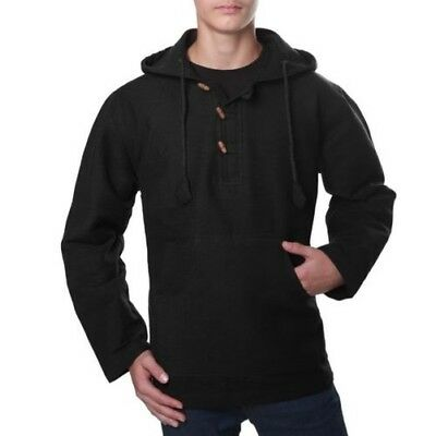 69144ea26860cf Kunst Und Magie Overcoat Shirt Poncho Surfer Baja Nepal made of Thick