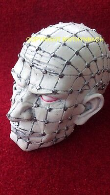 New Design Rubber Latex Mould Moulds Mold To Make Nail Head Horror Zombie Skull
