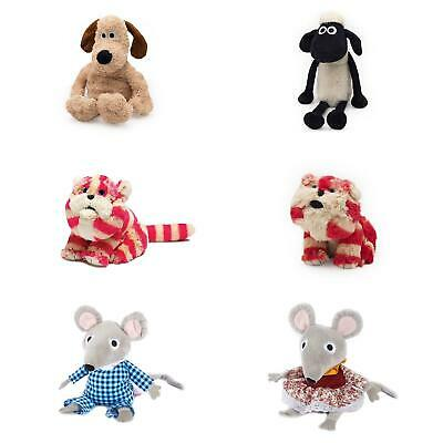Warmies Mircowavable Scented Soft Toy - Wallace & Gromit/Bagpuss/Shaun The Sheep