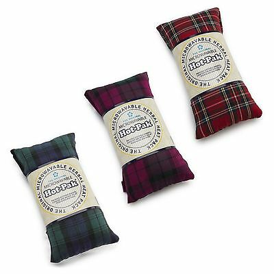 Hot-Pak Microwavable Tartan Heat Pack With A Lavender Scent, 90 Second Warm Up