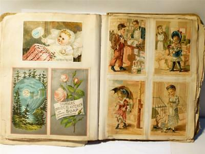 180+ Victorian Scrapbook Advertising Pictorial Scraps American TRADE CARDS
