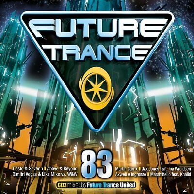 FUTURE TRANCE 83 (Tiesto & Sevenn, Jax Jones, Martin Garrix) 3 CD Box-Set  - NEU