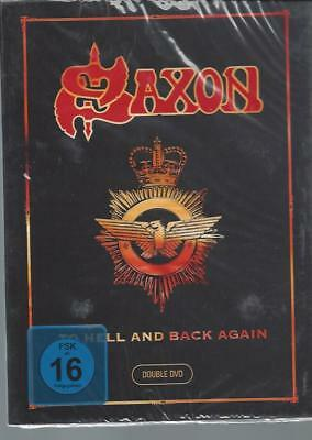 Saxon – To Hell And Back Again  2 DVD