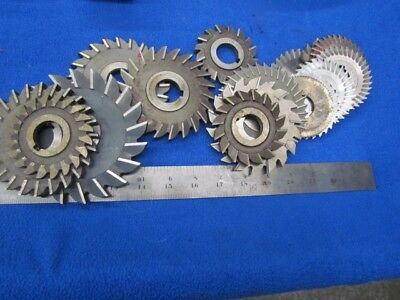 """Milling Cutters  3"""", 4"""" & 5"""" w/ 1"""" Hole           G-066"""