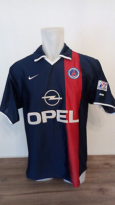 jersey/shirt/maillot PARIS SAINT GERMAIN Psg home M 01-02 Anelka Okocha France