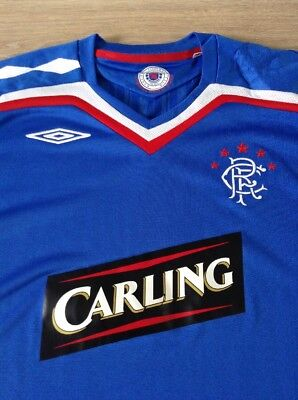 Rangers Football Shirt 2007-2008 Home Kit Vgc Size Adult Xl