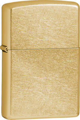 Zippo ZO10029 Gold Dust Street Gold Windproof Lighter - 041689100292