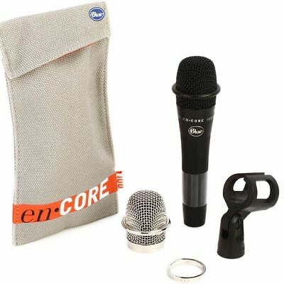Blue Microphone Spark Blackout SL XLR Recording Microphone W/ Pop Filter *New*