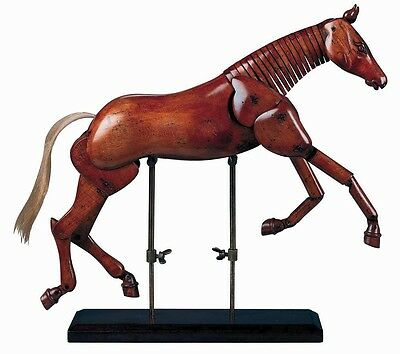 Large Artist Horse - Museum Replica - Wooden Model