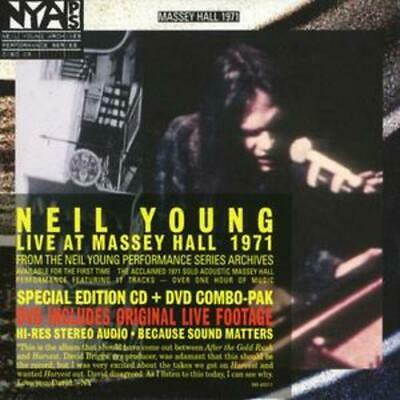 Neil Young : Live at Massey Hall [cd + Dvd] CD (2007)