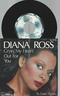 """7""""   Diana Ross – Cryin' My Heart Out For You"""