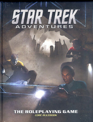 Star Trek Adventures - The Roleplaying Game Core Rulebook (Mophidius)
