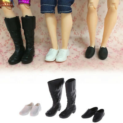 3 Styles Combination Cusp Shoes Leather Shoes Boots For Ken Doll Accessories