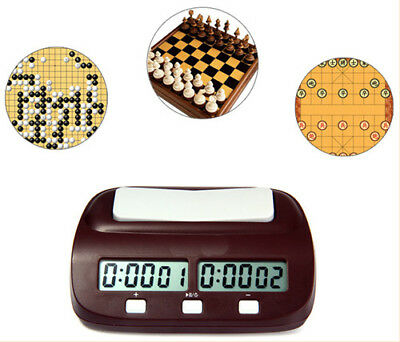 PQ9907s Digital Chess Clock I-go Count Up Down Timer for Game Competition Gifts